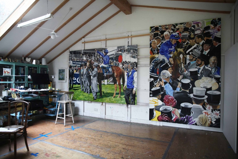 Studio image 2, Masar 2018 Epsom Derby.