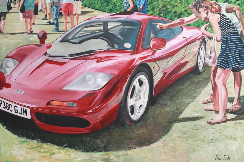 McLaren F1 at Goodwood concours de elegance,|Cartier style et luxe.|72 x 108 inches (183 x 275 cm).|� Sold