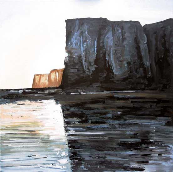 Bottany Bay, Morning. Oil on canvas 36 x 36 inches (92 x 92 cm). £ POA