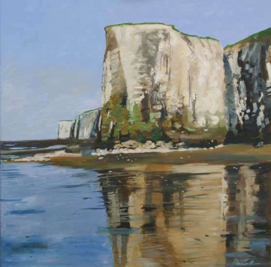Botany Bay, Midday. Oil on canvas 36 x 36 inches (92 x 92 cm). £ POA